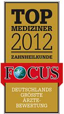 Top Mediziner 2012 Zahnheilkunde M. Müller