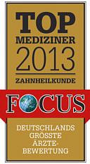 Top Mediziner 2013 Zahnheilkunde Dr. Michael Müller