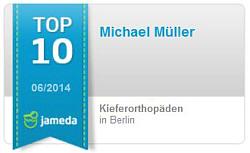 Jameda Bewertung Kieferorthopädie in Berlin Micheal Müller